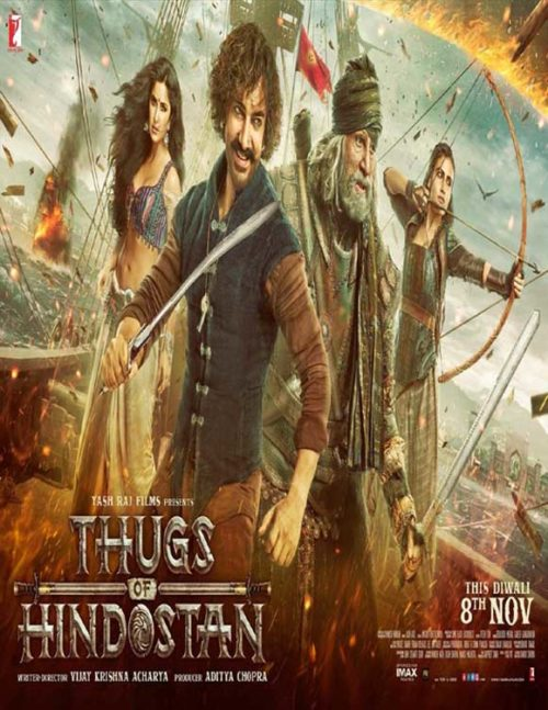 Thugs of Hindostan Full Movie Download Free 720p BluRay - Free Movies Download