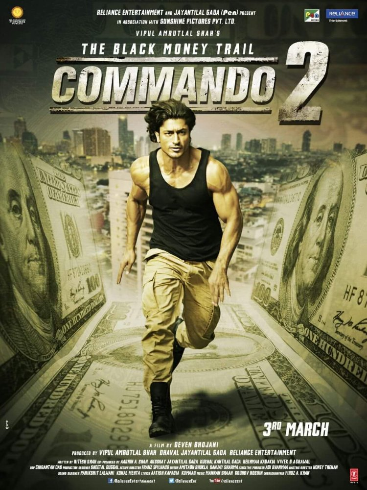 Commando 2 Full Movie Download Free 720p - Free Movies Download
